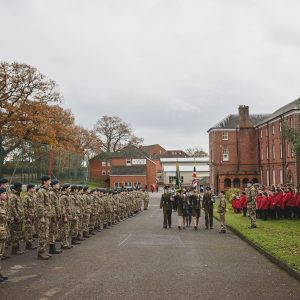 Precession of cadets and students