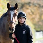 horse riding at Lucton School
